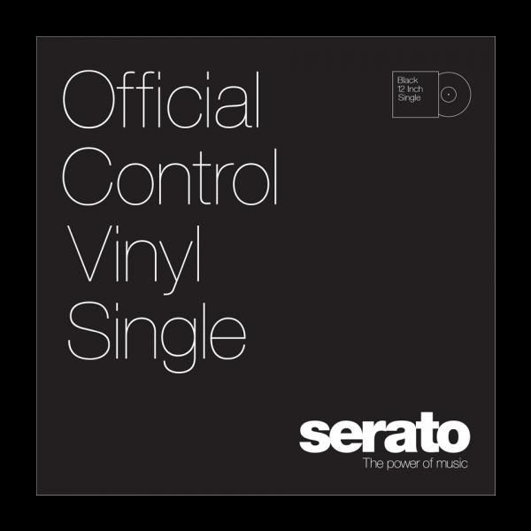 12'' Serato Control Vinyl - Serato Standard Colors - BLACK (SINGLE)