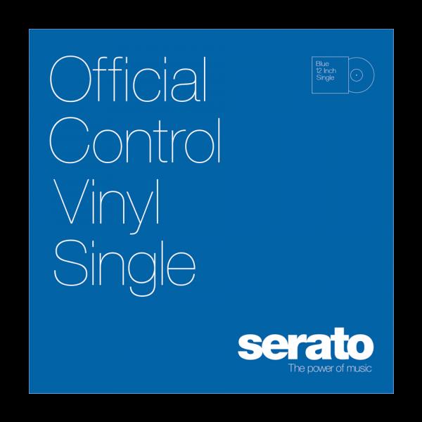 12'' Serato Control Vinyl - Serato Standard Colors - BLUE (SINGLE)