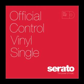 12'' Serato Control Vinyl - Serato Standard Colors - RED (SINGLE)