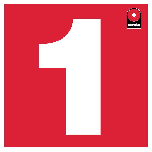 12'' Serato Control Vinyl - Performance Series - RED (SINGLE)