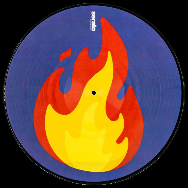 "2 X 12"" Emoji Series #2 Flame/Record"