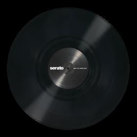 12'' Serato Control Vinyl - Performance Series - BLACK - Official Jacket (Pair)