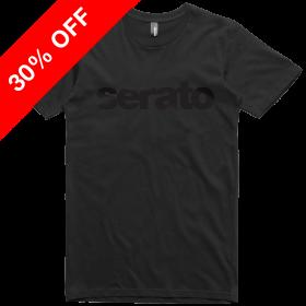 Serato Black Logo T-shirt