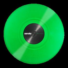 12'' Serato Control Vinyl - Performance Series - GREEN - Official Jacket (Pair)