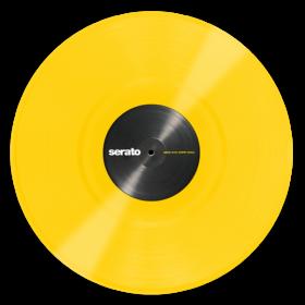 12'' Serato Control Vinyl - Performance Series - YELLOW - Official Jacket (Pair)